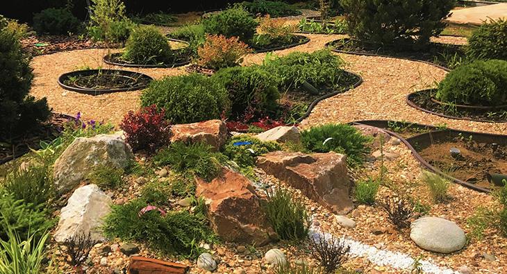 Сухой ручей в ландшафтном дизайне: как сделать красоту на участке